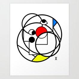 The Twin of Gemini Art Print