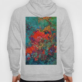 red poppies fantasy Hoody
