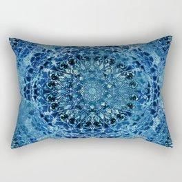 Boho Pool Mandalas Rectangular Pillow