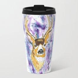 Winter Buck Travel Mug
