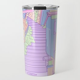 Lost in the Alleys of Japan Travel Mug