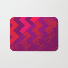rational meets irrational (in red) Bath Mat