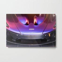 McLaren P1 - Cerberus Pearl - Nose Metal Print