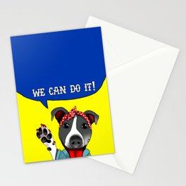Lu the Riveter! Stationery Cards