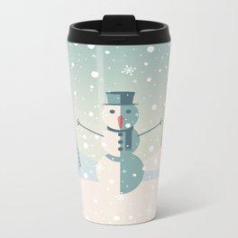 Festive moments 3- The Snowman Metal Travel Mug