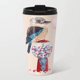 Kookaburra Gumball Machine Metal Travel Mug