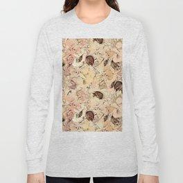 pattern Flowers Long Sleeve T-shirt