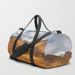 Distant Snow Duffle Bag