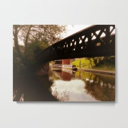 Canal Dreams Metal Print
