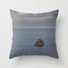 Seascape 230 Throw Pillow