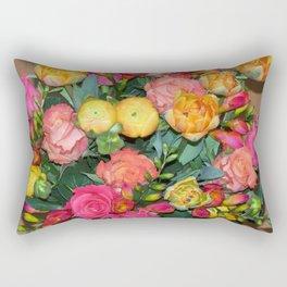 Annas Flowers IV Rectangular Pillow
