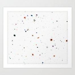 Hubble Deep Field Galaxies Art Print