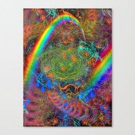 Rainbow Tumbleweeds Canvas Print