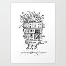 Aerozoid Art Print