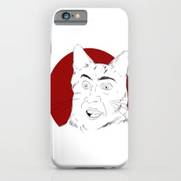 """""""you dont say?"""" iPhone Case"""