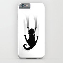 Cat Climb iPhone Case
