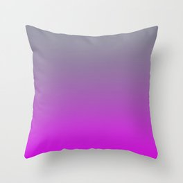 GET LOST - Minimal Plain Soft Mood Color Blend Prints Throw Pillow