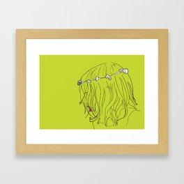 Robyn Flowerchild Framed Art Print