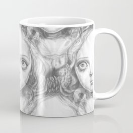 Freya and Faye, the moth collectors Coffee Mug