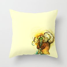 gatoelho Throw Pillow