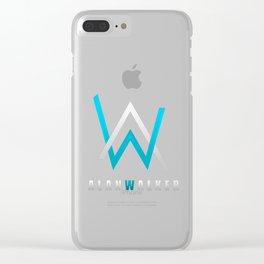alan walker Clear iPhone Case