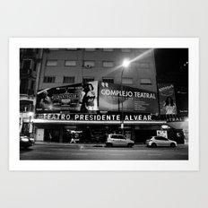 Teatro Art Print