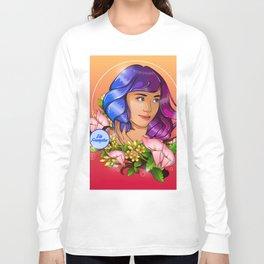 Blooming Dia Long Sleeve T-shirt