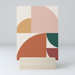 Abstract Geometric 10 Mini Art Print