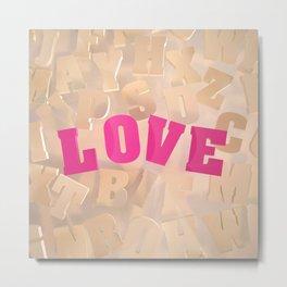 Love #2 Metal Print