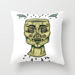 Bring me to the block Throw Pillow