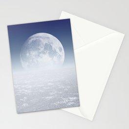 Desert Moon, Blue Sky Stationery Cards