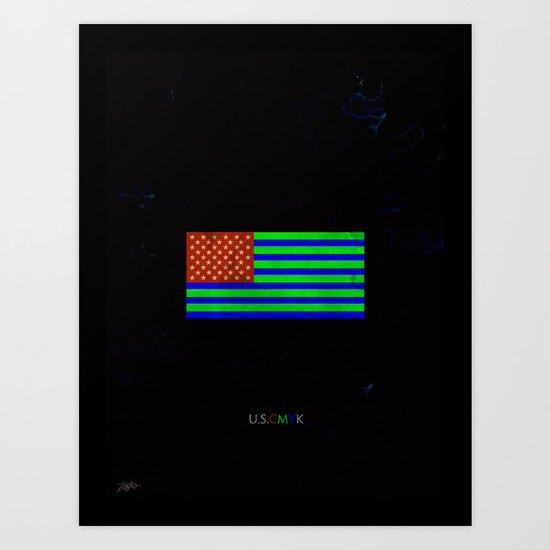 U.S.C.M.Y.K Art Print