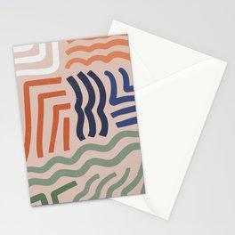 Arid Contour Stationery Cards