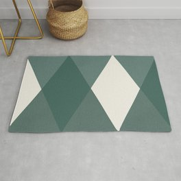 Simple geometrical pattern Rug