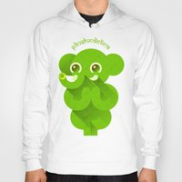 ganesha Hoodies featuring Ganesha by Plushedelica