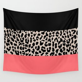 Leopard National Flag XV Wall Tapestry