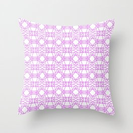 *PURPLE_PATTERN_1 Throw Pillow