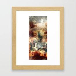 Sorrowful souls Framed Art Print