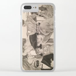 """Poster """"Fifty Shades Darker"""" Clear iPhone Case"""