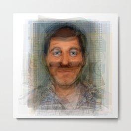 H Jon Benjamin Portrait Metal Print