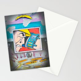 The Evolution of Technology2 Stationery Cards