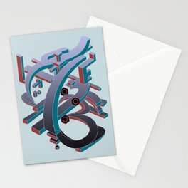 Time Glass Stationery Cards