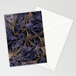 Blue Magical Wisps Stationery Cards
