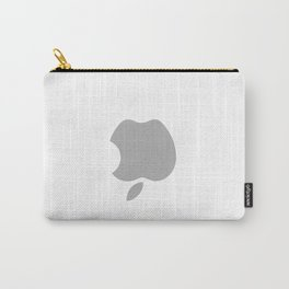 Upside down Apple logo Carry-All Pouch