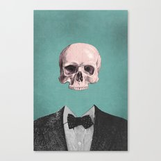 Dapper Dead Canvas Print