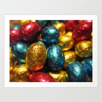 easter Art Prints featuring Easter by habish