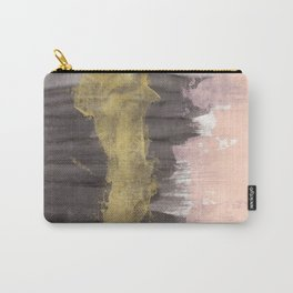 Black / Pink / Gold Carry-All Pouch