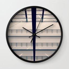 Berlin - Parliament on Vacation Wall Clock