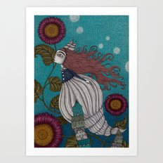 The Little Mermaid (1) Art Print
