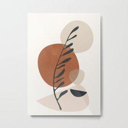Abstrac Shapes 34 Metal Print